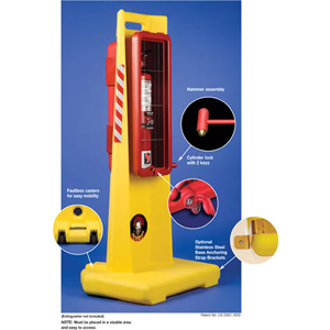 theCenturion™ fits ALL 10 lb and 20 lb ABC Fire Extinguishers